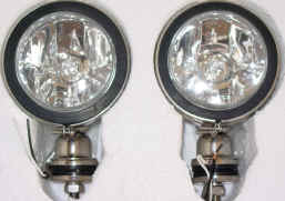 4X4POINT� 4WD SPOT DRIVING FOG LIGHTS BULBS INCLUDED