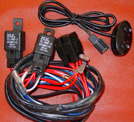 IPF Style Wiring Kit Harness Light up to 150W *DOUBLE*